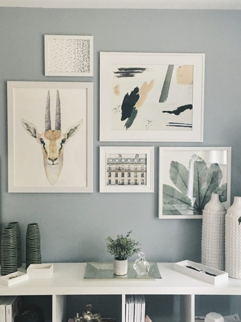 designing a gallery wall with Minted