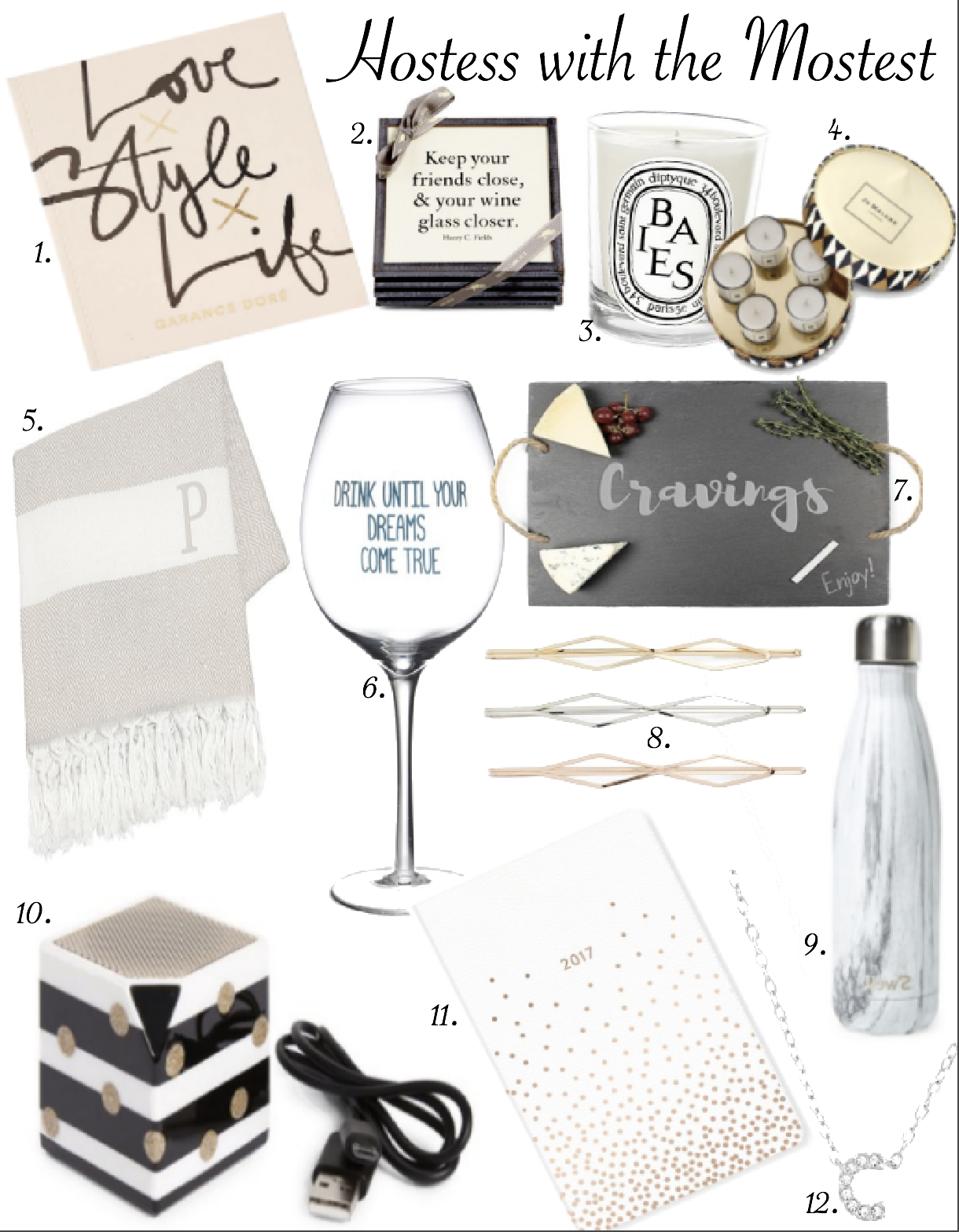 holiday gift guides for the host