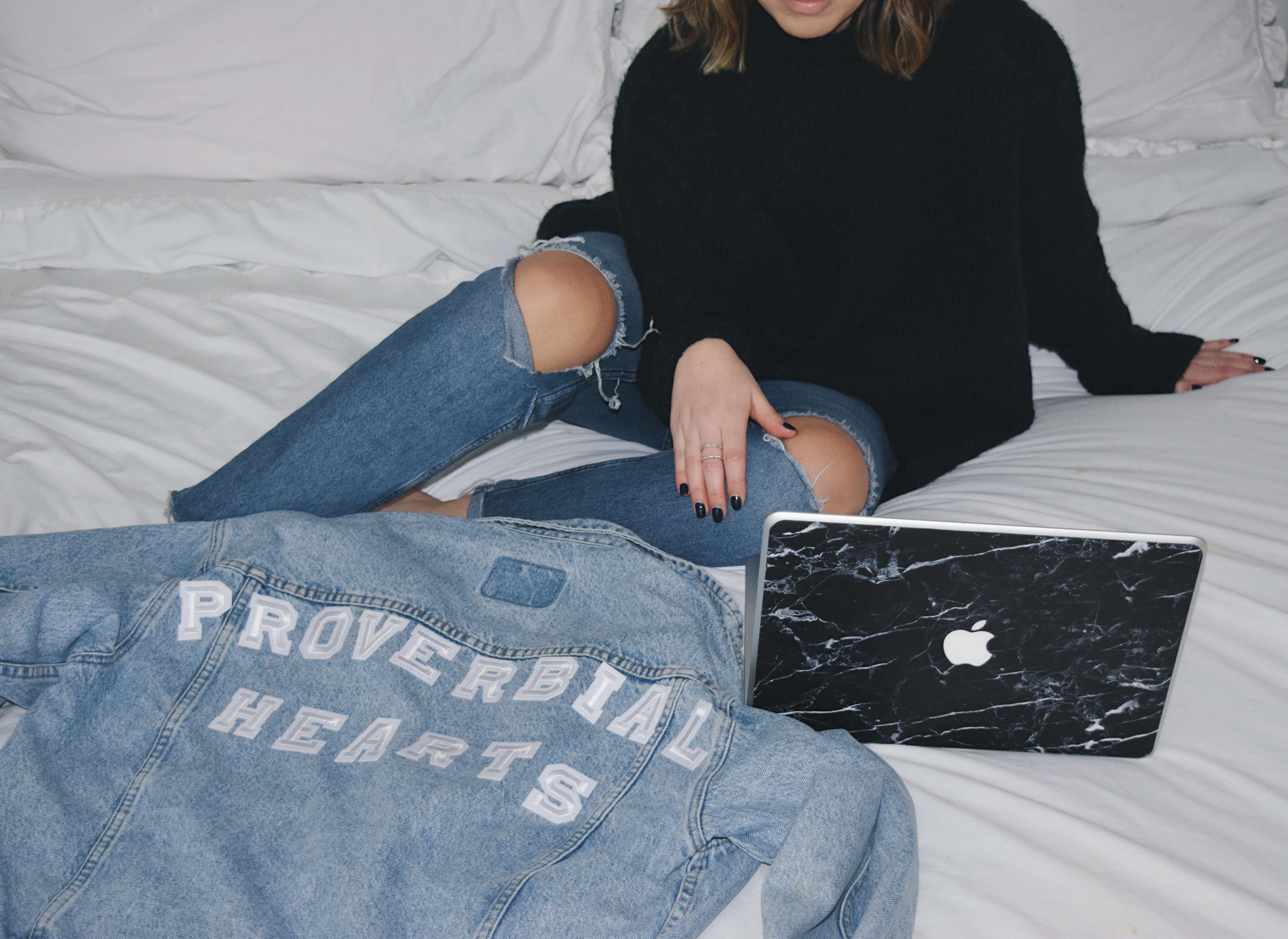 how to make your own custom denim jacket