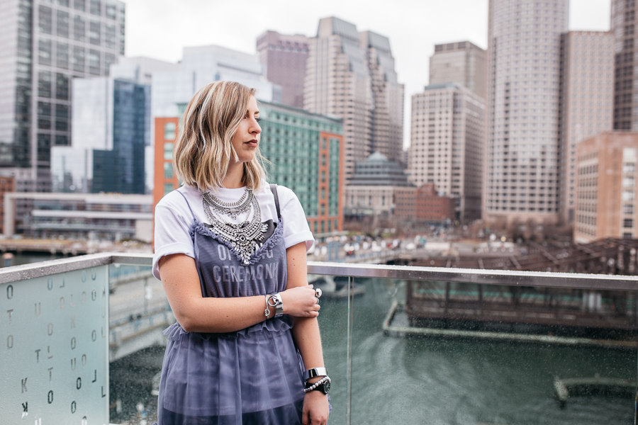how to layer a sheer dress by Proverbial Hearts