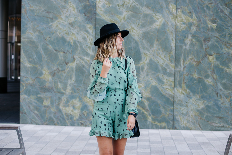 proverbial hearts wearing asos backless romper