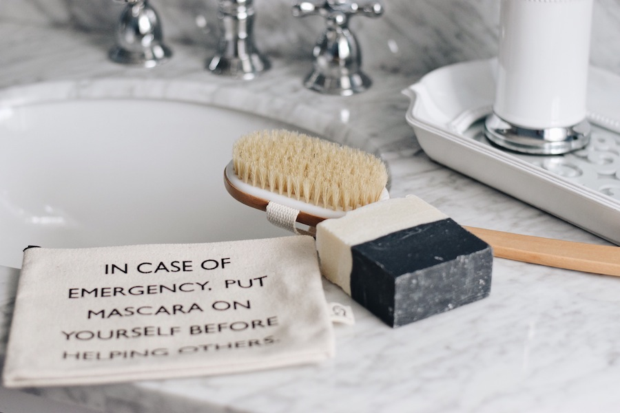 how to dry brush